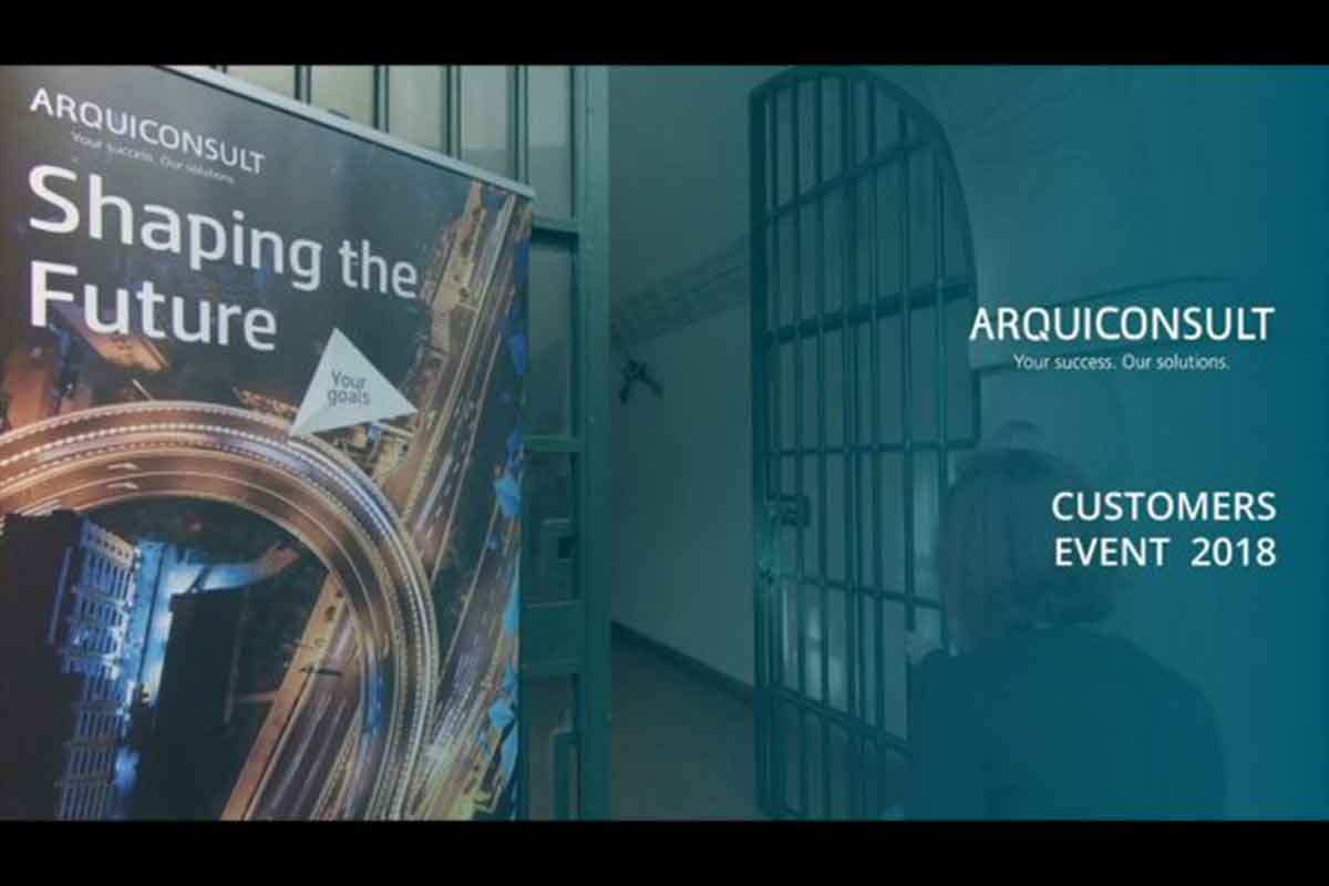 Arquiconsult Customers Event 2018 – Shaping the Future