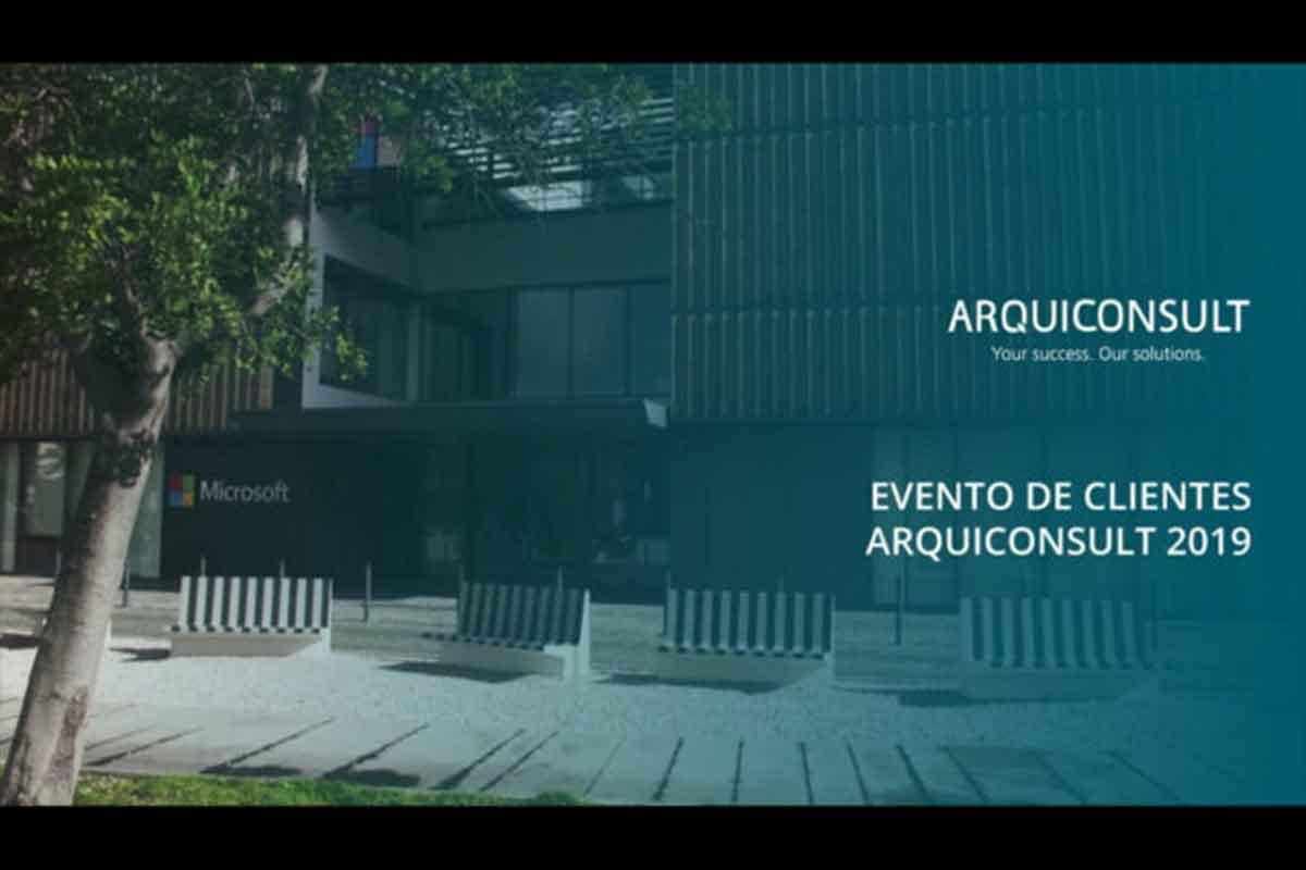 Evento de Clientes Arquiconsult 2019 – Leading D365 days a year